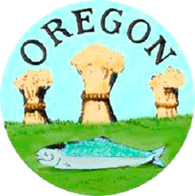 The seal of the Oregon Provisional Government