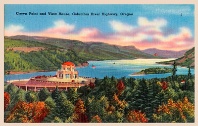 Vista House postcard