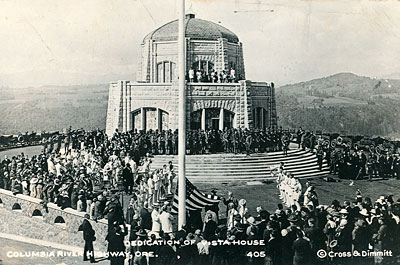 Vista House dedication