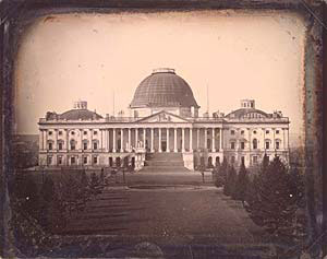 The U.S. Capitol in 1846