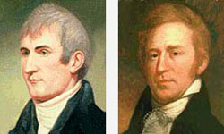 Portraits of Meriwether Lewis and William Clark