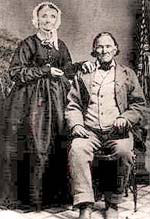 Nathaniel Ford and his wife posing