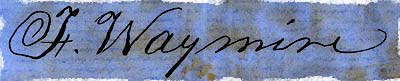 Signature of Fredrick Waymire.