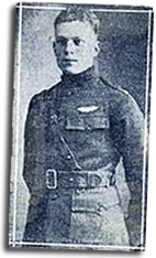 Lt. Hugh Broomfield in his service uniform