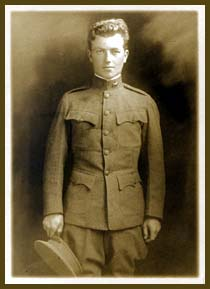 Delbert Reeves in his Oregon National Guard uniform.