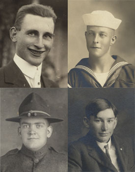 service men of world war I