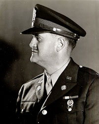 Profile photo of Jerrold Owen in military dress.