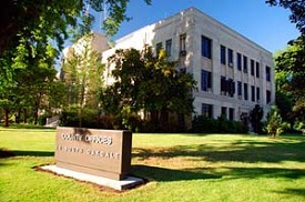 Jackson County Courthouse is an Art Deco building in Medford, Oregon, built in 1932.