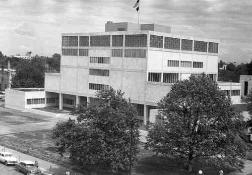 Photo of 1954 Marion County Courthouse.