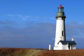 Yaquina Head Lighthouse.