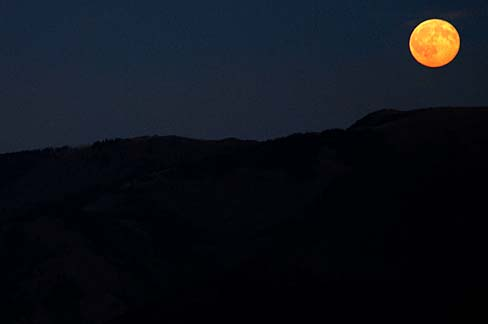 Image result for full moon over Grande Ronde Valley