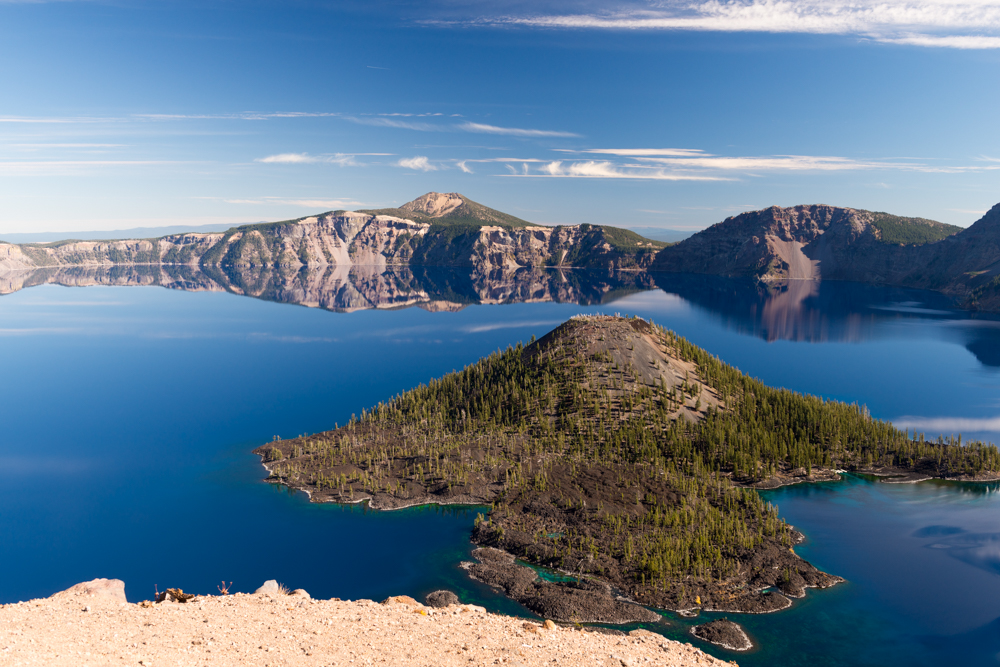 photograph of Crater Lake