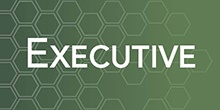 "Image of Governor Kate Brown with the word ""Executive"" on a green background."