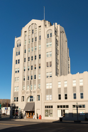 The building was constructed in 1929 in the Art Deco style.