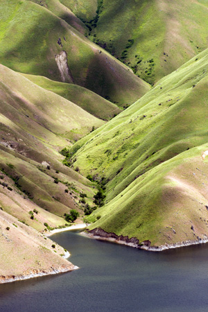 hillside along Snake River
