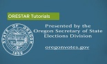 ORESTAR Tutorials screen.